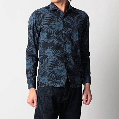 (ボイコット)BOYCOTT ダークボタニカルシャツ ネイビー(193) 03(L)