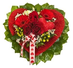 """Blumenstrauß """"von Herzen""""  zum Valentinstag"""