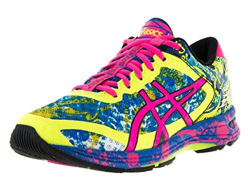 asics-womens-gel-noosa-tri-11-safety-yellow-hot-pink-electric-blue-running-shoe-9-women-us