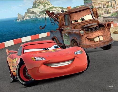 Disney Pixar Cars Mater & Lightnin McQueen Lenticular 3D Puzzle - 24 Pieces - 1