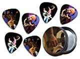 Black Stone Cherry (KP) 6 X Live Performance Guitar Picks in Tin
