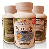 Turmeric Curcumin with BioPerine® (Black Pepper) Supplement- 1200mg per Serving, 100% Natural, Non GMO,Anti Inflammatory, Anti-Aging,Makes Joints Feel Better for Women, Men and Seniors