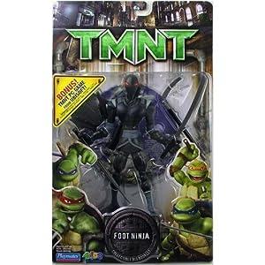 Amazon.com: TMNT Movie Foot Ninja Action figure with PC Game Bonus CD