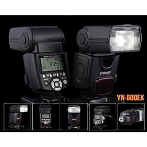 TTL Flash Unit Speedlite YN-500 EX YN500 EX with HSS High Speed Sync 1/8000 for Canon By Sanlise