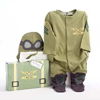 The Future Pilot Theme Super Soft Baby Layette Set | Baby Shower Gift Idea