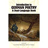 Introduction to German Poetry: A Dual-Language Book (Dover Dual Language German) ~ Gustave Mathieu