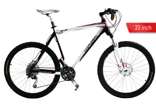 20112 HASA Mountain Bike Shimano SLX 30 Speed 22 Inch