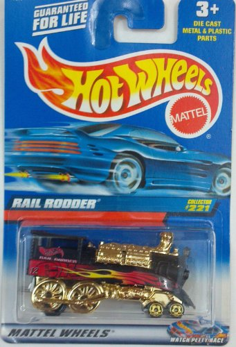 Hot Wheels Rail Rodder #221 Year: 2000 - 1