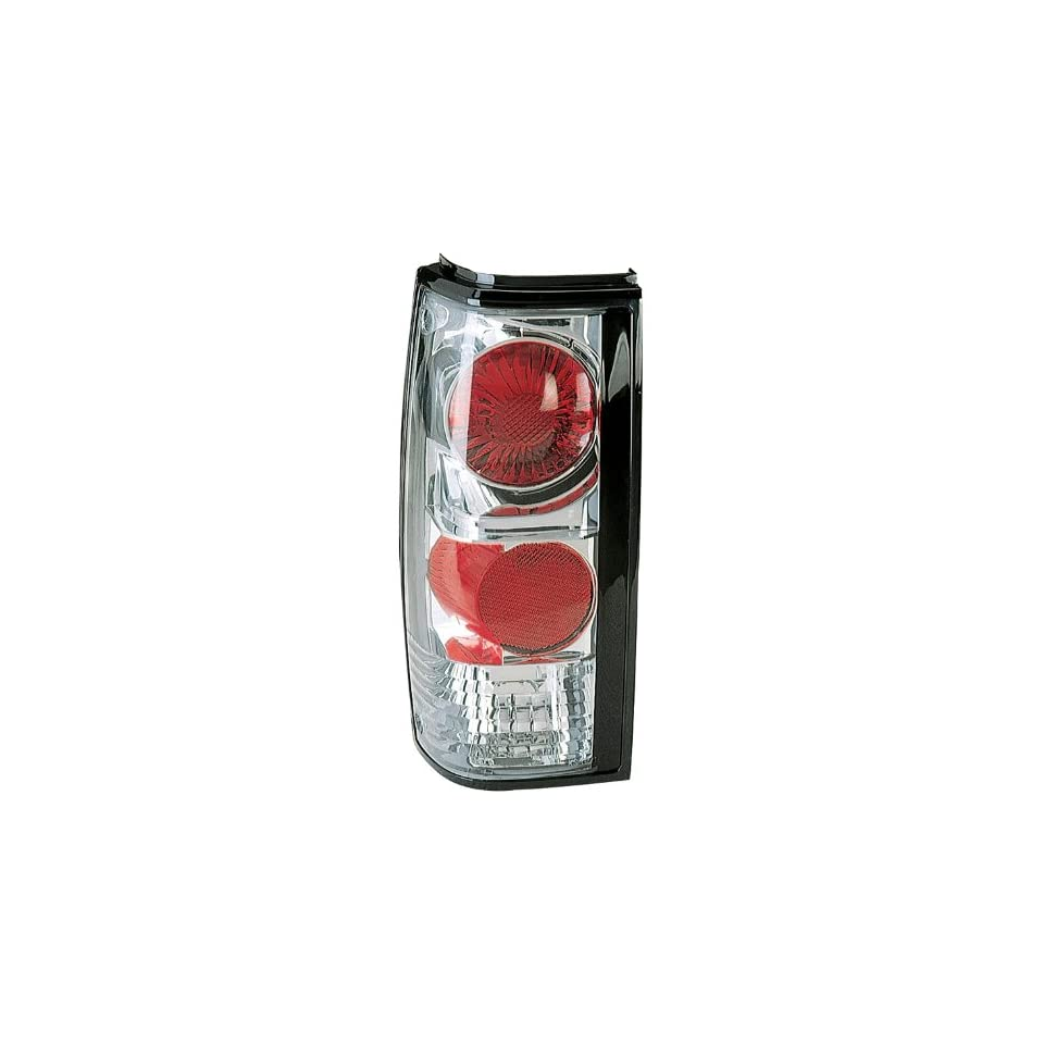 CHEVY S10 BLAZER GMC JIMMY SANOMA 82 93 TAIL LIGHTS CHROME