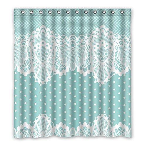 """167 centimetri x183 cm (66 """"x72"""") Bagno Doccia Tenda, merletto caldo Tenda, Retro Fashion personalizzato in poliestere impermeabile del tessuto Shower Curtain"""