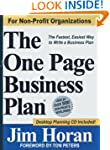 The One Page Business Plan for Non-Pr...