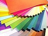 色 鮮やか カラー フェルト 40 枚 セット 30 ☓ 30 cm