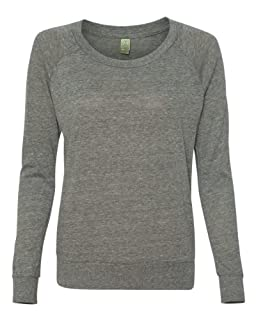 Alternative Ladies Junior Fit Eco Jersey Slouchy T-Shirt 1990E1 Eco Grey S