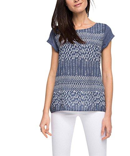 ESPRIT Damen T-Shirt mit Print, Gr. 40 (Herstellergröße:
