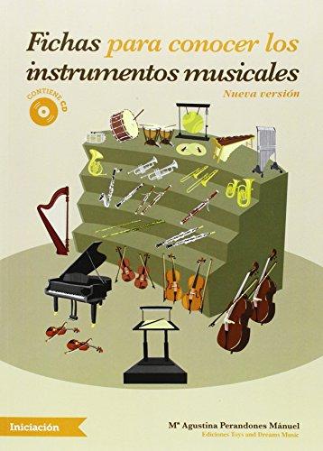 FICHAS PARA CONOCER LOS INSTRUMENTOS MUSICALES