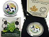 2014年 FIFA World Cup Brazil 公式記念 カラーコイン サッカーボール・スペシャルプレゼンテーションボックス入り 【並行輸入品】