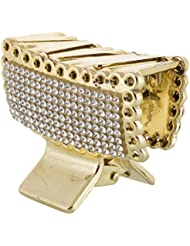 The Beauty Store Gold Metal Hair Clip For Women (TBS_HAIRCLUTCH_004)