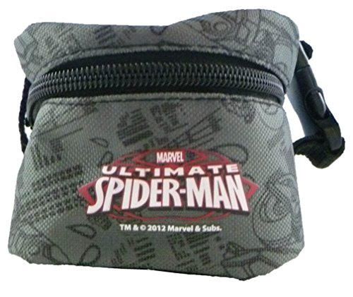 "Marvel Spider-Man 6"" Gray/Black ""Super Seat Bag"""