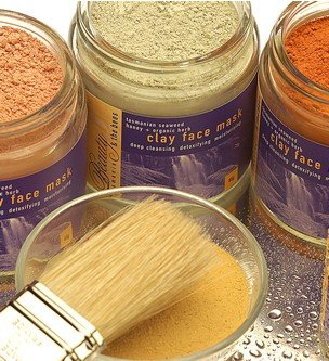 Green Clay Face Mask With Tasmanian Seaweed, Leatherwood Honey And Herbs 65G/2.3Oz