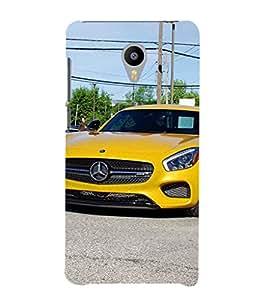 EPICCASE stunning car Mobile Back Case Cover For Meizu m2 Note (Designer Case)