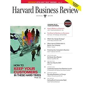 Harvard Business Review, April 2009 Periodical