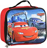 Disney Kids CARS Insulated Lunch Bag, Red