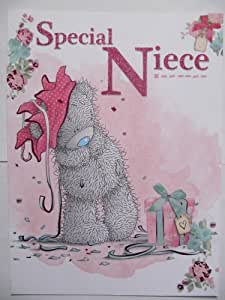 Special Wedding Gift Ideas For Niece : LARGE ME TO YOU TATTY TED BEAUTIFUL SPECIAL NIECE BIRTHDAY GREETING ...