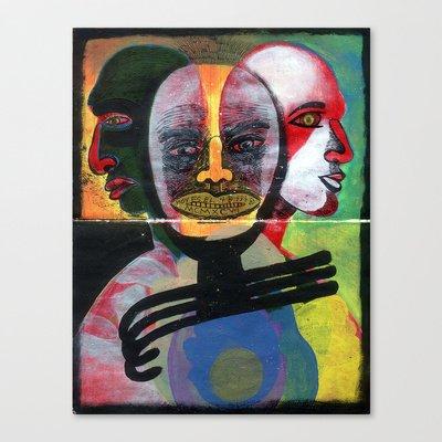 Society6 - Hoy Es El 4 De Iii De Mcmxcvi Stretched Canvas By Juan Antonio Zamarripa [Esqueda]
