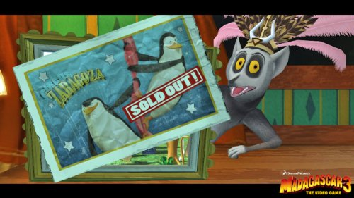 Madagascar 3 screenshot