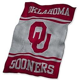 NCAA Oklahoma Sooners Ultrasoft Blanket