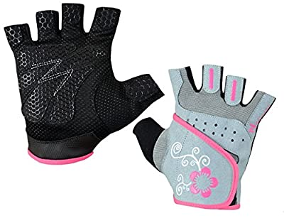 Ladies Gel Gloves Fitness Gym Wear Weight Lifting Workout Training Cycling Women's by NORMAN INTERNATIONAL