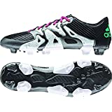 adidas Performance Men's X 15.3 Firm/Artificial Ground Soccer Cleat,Black/Shock Mint/White,6.5 M US