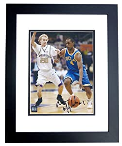 Arron Afflalo Autographed Hand Signed UCLA Bruins 8x10 Photo - BLACK CUSTOM FRAME -... by Real Deal Memorabilia