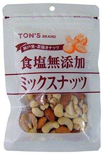東洋ナッツ 食塩無添加ミックスナッツ 78g