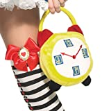 Plush clock purse