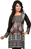 Indian Tunic Top Womens Long Kurti Blouse India Clothes