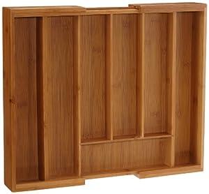 Esmeyer 457317 cassetto porta posate in legno regolabile casa e cucina - Porta posate da cassetto ...