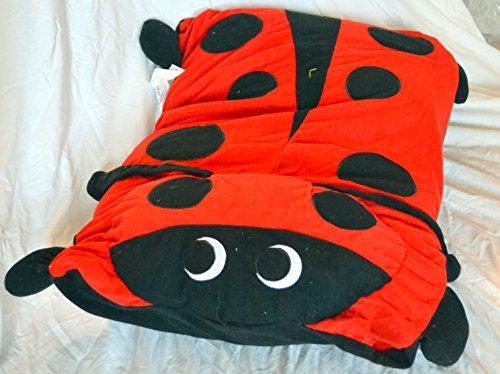 Twin/Standard Character Pillow Case Ladybug (Ladybug)