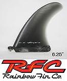 Rainbowfin レインボーフィン RFC RUSTY PERFORMANCE FLEX 6.25'' Glass イエロー ロングボード用 シングルフィン LONGBOARD SINGLE FIN
