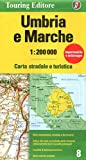 Umbria/Marche (Regional Road Map) (French Edition)