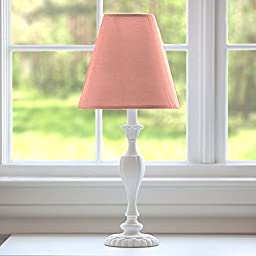 Carousel Designs Solid Light Coral Lamp Shade