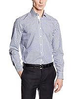 Hackett London Camisa Hombre (Blanco / Azul)