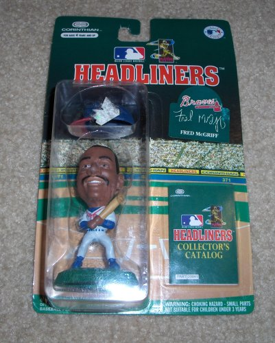 Picture of Corinthian 1996 Fred McGriff MLB Headliners Figure (B000OR8D1W) (Corinthian Action Figures)