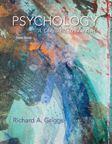 Free Download Psychology A Concise Introduction By Richard A