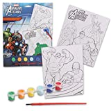 Poster and Coloring Paint Set (Marvel Avengers Assemble)