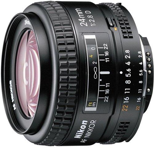 Nikon 単焦点レンズ Ai AF Nikkor 24mm f/2.8 フルサイズ対応