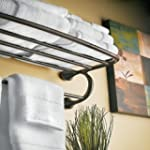 Moen YB2894ORB Eva Hotel Towel Shelf...