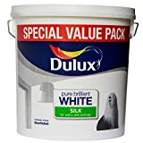 Dulux Retail Silk Pure Brilliant White 3L
