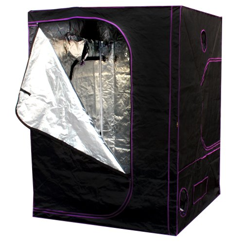 Apollo-Horticulture-60x60x80-Mylar-Hydroponic-Grow-Tent-for-  sc 1 st  Grow Tent Store & Apollo Horticulture 60u201dx60u201dx80u201d Mylar Hydroponic Grow Tent for ...