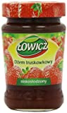 Lowicz Strawberry Jam 280 g (Pack of 8)